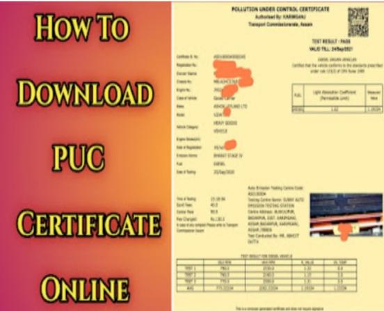 Puc Certificate
